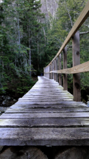 Mt Marcy: John Brook River Foot Bridge