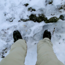 Mt Marcy: Yellow Foot Trail to Marcy : Sandugo Trekking Shoes in Snow